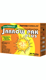 30 High Potency Vitamin and Mineral Packets. All inclusive nutrient packets contain daily dosages of the following Jarrow Formulas supplements: B-Right, C +Oleaselect, Mineral Balance, CarotenALL and GammaE..