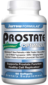 Prostate Optimizer supports healthy prostate function and urinary flow and healthy cell replication..