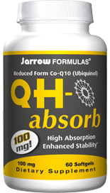 Ubiquinol QH-Absorb contains the formula - the most bioavailable and active antioxidant form of Coenzyme Q10..