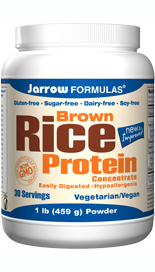 A high-protein alternative to soy and animal products, Jarrow FORMULAS.