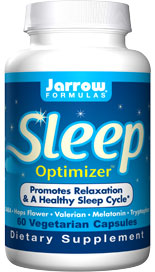 Jarrow FORMULAS® Sleep Optimizer ™ combines herbs and amino acids that work together to facilitate falling asleep and maintaining a regular sleep cycle..