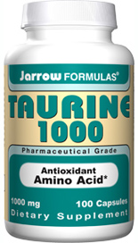 As an antioxidant, Taurine is used to quench the hypochlorite radical secreted by leukocyte immune cells. Taurine.