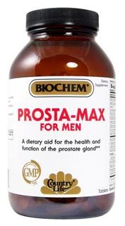 An advanced formulation combining vitamins, minerals, amino acids and herbal extracts designed to support normal healthy prostate function. Vegetarian/Kosher.