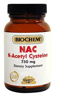 N-Acetyl Cysteine is a form of the sulfur containing Amino Acid, Cysteine. NAC is the most bioavailable precursor of glutathione peroxidase..