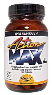 Herbalized Nutrient Complex with Yohimbe and Tribulus Terrestris for men seeking to increase male vitality..