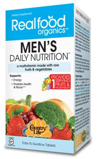 His Daily Nutrition multivitamin offers more than a vitamin and mineral formula. It also includes enzymes, phytonutrients, and glyconutrients..