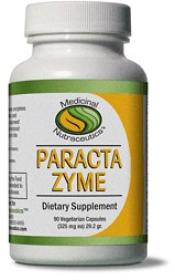 Benefits of ParactaZyme may include improved cardiovascular health, organ functionality, and a reduction of minor pain commonly associated with strenuous exercise..