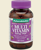 Multi Vitamin Energy Plus® is a daily multi-nutritional formula designed for women that provides vitamins, minerals and important other nutrients all in one energizing and highly potent state-of-the-art supplement.  Multi Vitamin Energy Plus® for Women is the definitive women's multi-vitamin and mineral supplement, containing over 100% of the recommended daily value of most nutrients, including a whopping 625 mg of Calcium, plus Iron and Zinc..