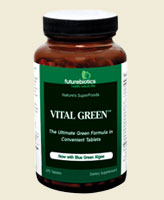 Vital Green™ contains multiple green whole-juice concentrates, which are the green juice fraction from freshly harvested, undried young plants grown in rich, fertile soil. Alfalfa roots burrow deep into the earth to absorb a variety of nutrients and reach minerals inaccessible to many other plants. It contains naturally-occurring beta-carotene, calcium, magnesium and potassium..