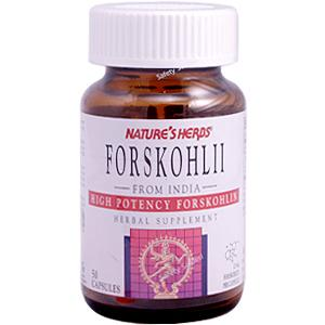 Each capsule of Nature's Herbs Forskohlii is standardized for 1 mg Forskohlin, the active constituent of Coleus forskohlii, synergistically combined in a base of Coleus forskohlii powder..