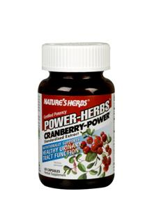 Nutritionally Supports Healthy Urinary Tract Functions. Cranberry-Power is standardized for the preferred concentration of 40 mg Organic Acids, synergistically combined in a base of freeze-dried whole cranberry..