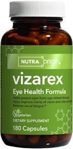 Vizarex contains a wealth of antioxidants shown to improve eye health, benefit visual acuity, preserve the clarity of the lens, and reduce visual fatigue..