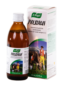 Concentrated lactofermented whey. Molkosan is different than other whey products. There are no fat and no protein substances present at all. Molkosan liquid encourages healthy intestinal function..