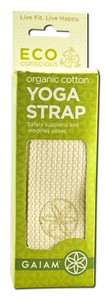 Safely supports and modifies poses while using earth-friendly organic cotton..