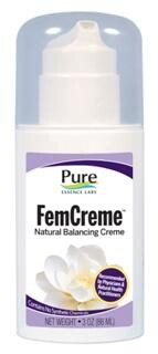FemCreme is a natural progesterone that is designed to the exact specifications of Dr. John Lee (What Your Doctor May Not Tell You About Menopause)..