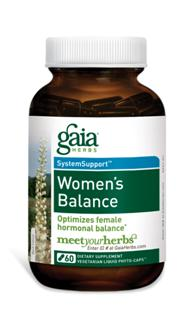 Women's Balance supports the fluctuation in hormones during Menopause and PMS and helps relieve the symptoms. Say good-bye to hot flashes and irritability! Balance your mind and body during lifes transitions with botanical herbs specifically targeted to support hormonal changes..
