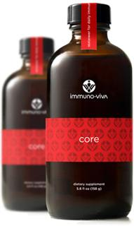 Immuno-Viva Core Liquid from Botanical Oil Innovations delivers super-potent Antioxidants to the system, boosting Immune function..