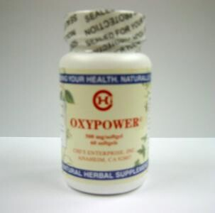 OxyPower 60 softgels from Chi's Enterprise.