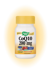 CoQ10 by Nature's Way is a powerful antioxidant that boosts energy and enhance immune system function. It also combats a variety of chronic illnesses such as cardiovascular problems, diabetes, cancer, muscular dystrophy, and HIV/Aids..