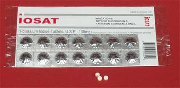 For thyroid blocking in a radiation emergency..
