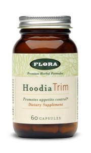Flora's HoodiaTrim with its appetite-suppressing activity is a natural way to help control your food intake..