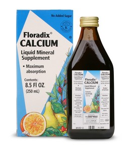 Floradix Calcium Liquid provides 200 mg of highly absorbable elemental calcium to your diet with every 20 mL serving..