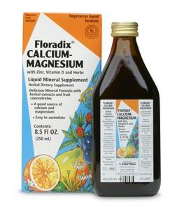 Floradix Calcium-Magnesium liquid meets the challenges of calcium utilization and absorption.
