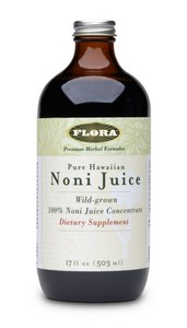 Wild Grown 100% Noni Juice Concentrate.