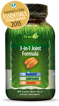3-in-1 Joint Formula by Irwin Naturals. Highly potent formula of Glucosamine, Chondroitin and botanicals to promote flexibility, structure and support joint health. Aching and overworked joints need the help of a supplement that is potent and fully absorbed, Irwin Naturals Soft-Gel Technology helps you get serious about joint health. Buy at Seacoast Vitamins Today..