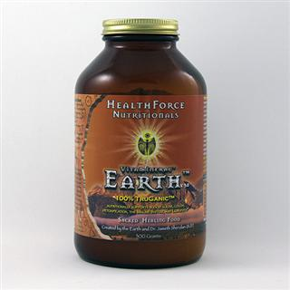 Vitamineral Earth is a completely different, grounding superfood with the best sources of essential fatty acids, cleansing and highly nutritive roots, barks, and colon detoxifying and supportive foods..