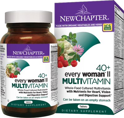 Whole-Food Cultured Multivitamin. Formulated for Women aged 40 plus with Nutrients for Heart, Vision and Digestion Support. Just one daily..