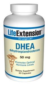DHEA (50 mg 60 capsules)*.