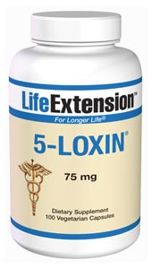 5-Loxin 75mg, a patent-pending extract of the Ayurvedic herb Boswellia Serratta, has demonstrated benefits of promoting joint health, improved mobility and comfort..