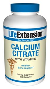 Calcium Citrate with Vitamin D 300 capsules- Calcium is the most abundant mineral in the body where it is primarily found in bones and teeth. In bone formation, calcium forms crystals that provide strength to maturing bone..