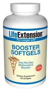 LifeExtension- Booster Softgels  contain nutrients that support arterial health and provide comprehensive protection from the effects of oxidative damage caused by free radical assaults..