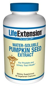These water-soluble pumpkin seed extracts appear to be the active constituents to help with the urinary discomforts endured by so many maturing women and men..