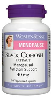 For women experiencing menopause, Black Cohosh is a safe and natural way to help reduce symptoms such as hot flashes and night sweats.*.