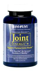 MRM's Joint Synergy Plus blend includes synergistic, natural ingredients to help aid in joint and muscle pain relief..