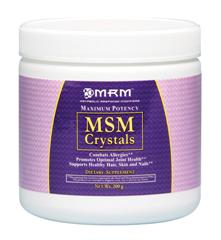 MSM Crystals absorb great. They're from MRM, and are high quality, easy to add to shakes, smoothies, protein drinks, juice, or just mix with water..