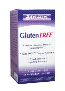 Supplementation with Gluten FREE can help you obtain vital nutrients while giving you the confidence to enjoy foods that may contain grains and dairy..