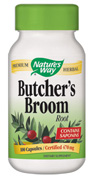 Butchers Broom traditionally used to relieve constipation, relieve water retention discomfort and improve circulation. Rich in flavonoids such as rutin, Butcher's Broom may enhance blood flow to the brain, legs, and hands..
