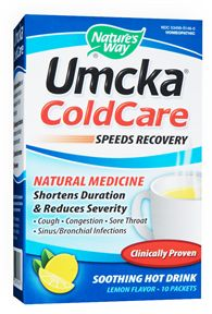 Umcka Cold Care Hot Drink by Nature's Way- shortens the duration and severity of colds, viruses and speeds recovery! Get started at the first sniffle!.