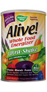 Alive! Ultra-Shake is the ultimate whole food nutritional energy source..
