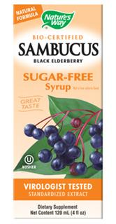 Nature's Way Bio-Certified Sambucus is the superior black elderberry extract. Now On Sale During Cold and Flu Season at Seacoast.com..