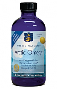 Arctic Omega - Nordic Naturals - Pharmaceutical Grade-No Fishy Burp Taste.