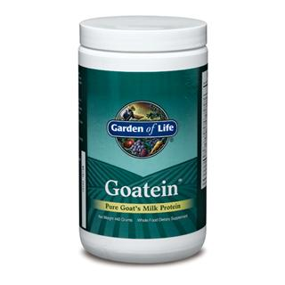 Goatein is an animal protein. Animal proteins are the only complete sources of protein. Vegetarian protein sources such as soy are typically missing one or more of the essential amino acids, even if their protein content is high.  Goatein contains pure goat's milk from goats raised without antibiotics or growth hormones. Many commercial dairy protein powders are produced from animals given antibiotics and hormones. Many vegetable proteins are made from non-organic or genetically modified organisms and may contain chemical residues..