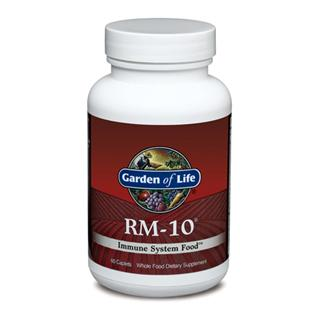 RM-10 includes a Poten-Zyme Organic Mushroom Blend composed of 10 tonic mushrooms, including Maitake, Shiitake, Reishi, Cordyceps, and other highly regarded mycelia. This proprietary blend is synergistically balanced with Cat.