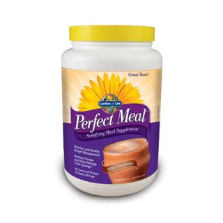 Perfect Meal Chocolate Shake Mix - Garden of Life - Take Charge of Your Hunger!.