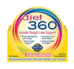 Garden of Life experts formulated Diet 360 to help you wage war on excess weight and finally win the battle of the bulge. Diet 360 provides a comprehensive and holistic approach in helping you reach your weight loss and total health goals. Todayâ.