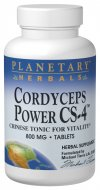 Planetary Herbals Cordyceps Power CS-4.